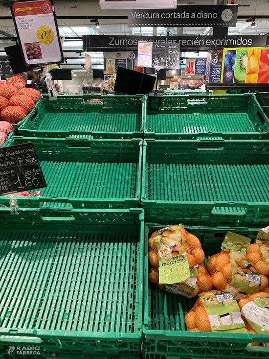 L'increment de la demanda generada pel coronavirus dispara les vendes de pomes i peres