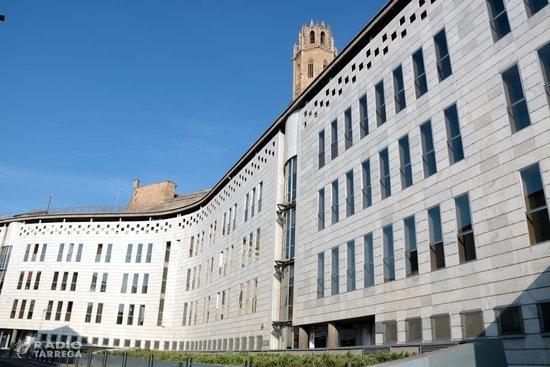 Els jutges de Lleida acorden suspendre les vistes i actuacions judicials durant quinze dies pel coronavirus