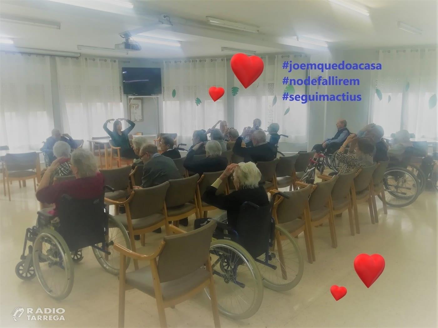 La residència Sant Antoni de Tàrrega crea un nou canal de comunicació resident-familiar via skype
