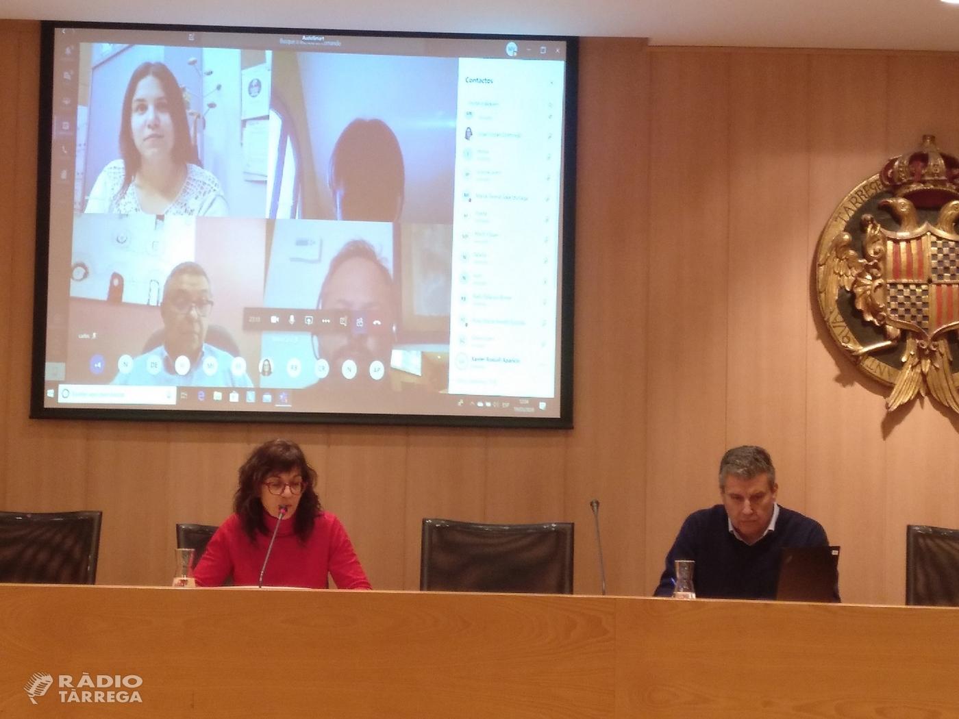 Àudio crònica del ple de l'Ajuntament de Tàrrega del 19 de març que ha aprovat els pressupostos pel 2020