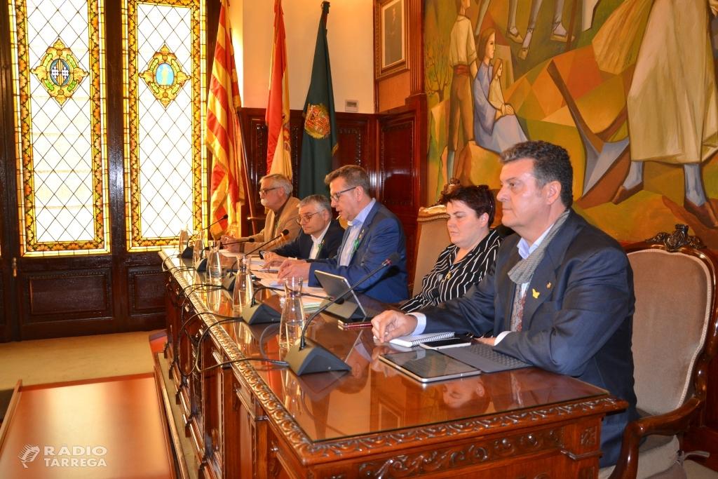 La Diputació de Lleida dicta un paquet de mesures per garantir la liquiditat dels ajuntaments i posposar terminis de cobrament dels impostos municipals