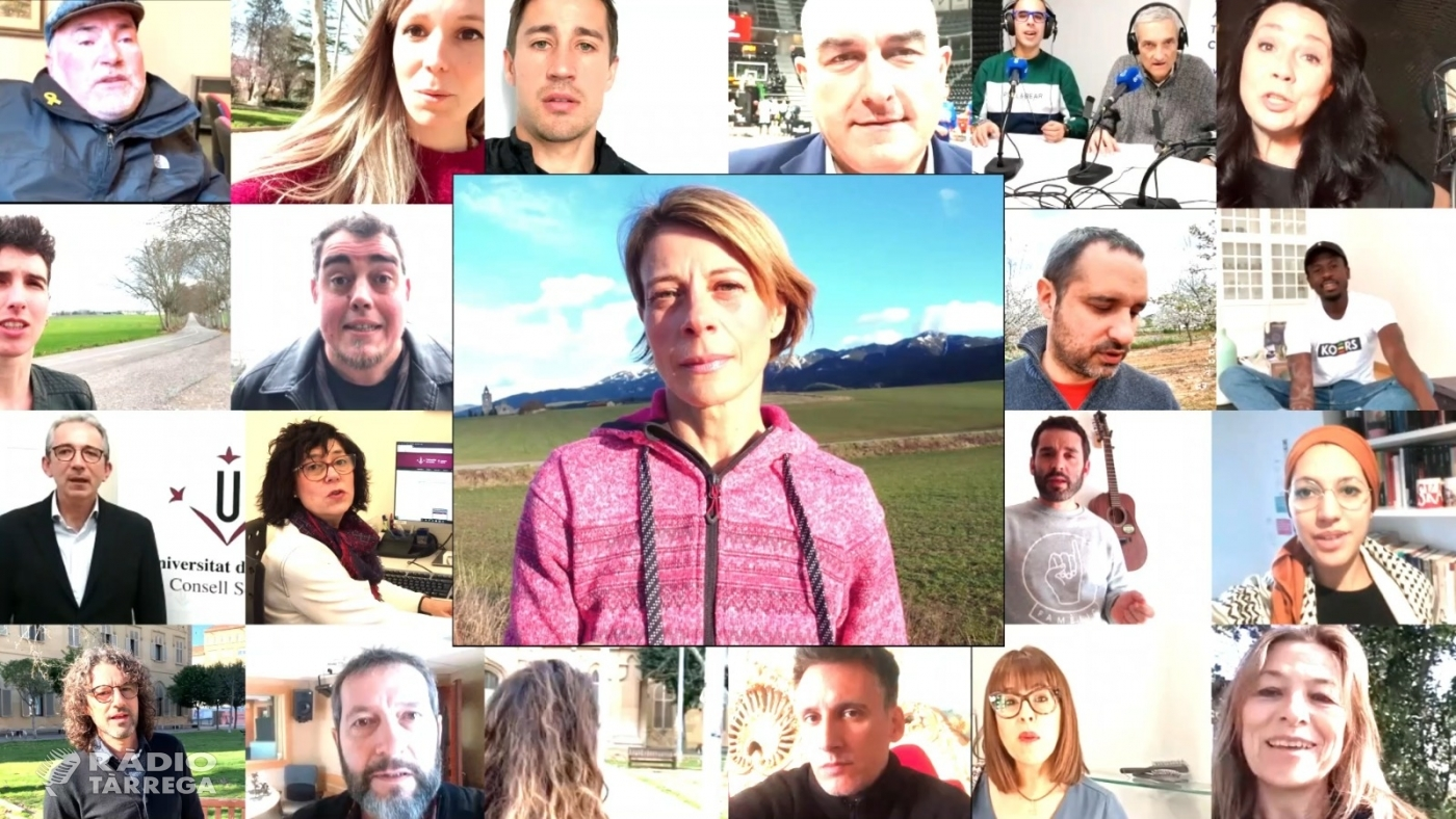 """Coincidint amb el Dia Mundial de la Felicitat la Càtedra d'Innovació Social de la UdL anima a """"contagiar"""" felicitat amb un vídeo amb referents lleidatans"""