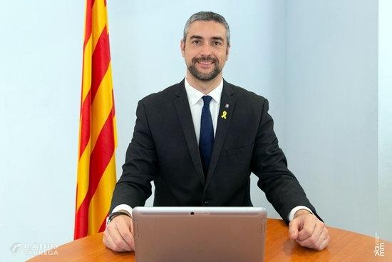 """Solé pren possessió per videoconferència com a conseller d'Acció Exterior: """"Des d'Agramunt i per Catalunya, ho prometo"""""""