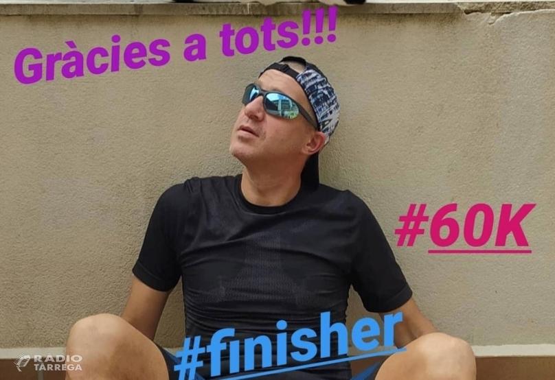 Un targarí completa una Marató de 60 quilòmetres dins de casa seva durant el confinament pel coronavirus