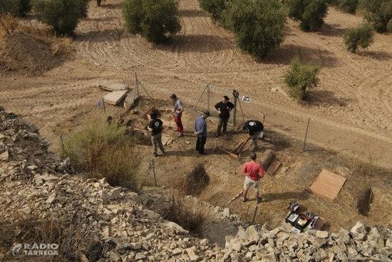 Les excavacions al jaciment experimental de Sant Martí de Maldà, a l'Urgell, finalitzen amb dues exhumacions animals