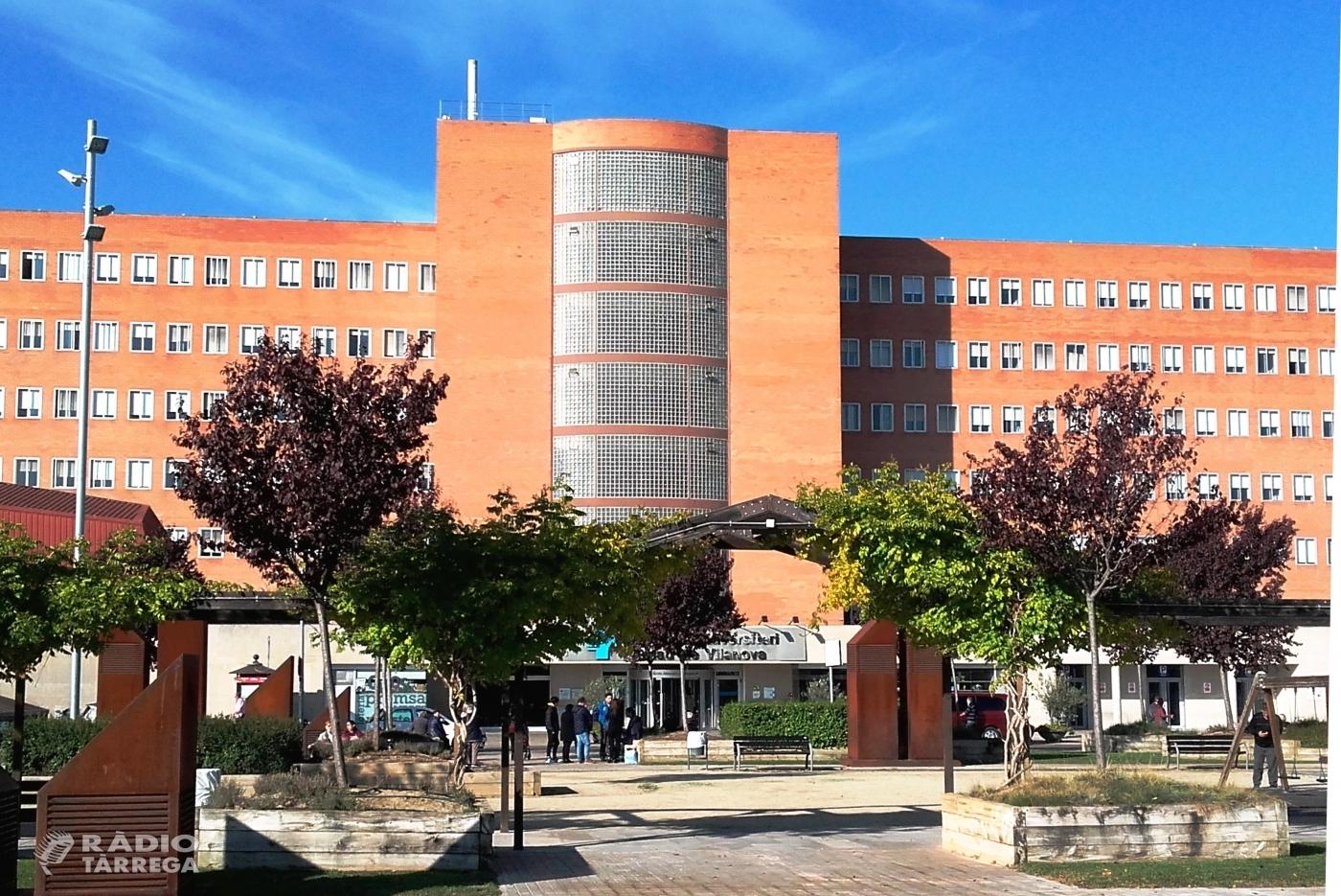 L'Hospital Arnau de Lleida habilita el gimnàs amb llits per a malalts amb coronavirus