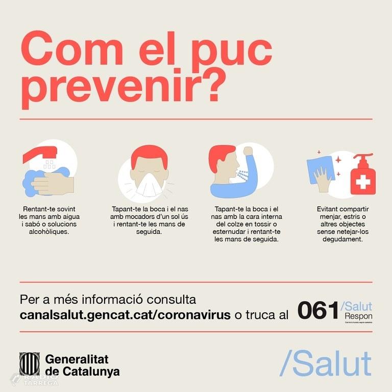 Lleida concentra la majoria de positius per coronavirus a la demarcació amb 184