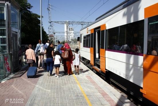 Renfe suprimeix la circulació de trens entre Manresa i Lleida i quedarà cobert amb busos