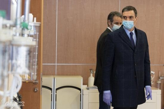 Pedro Sánchez prorroga l'estat d'alarma dues setmanes més fins al 26 d'abril