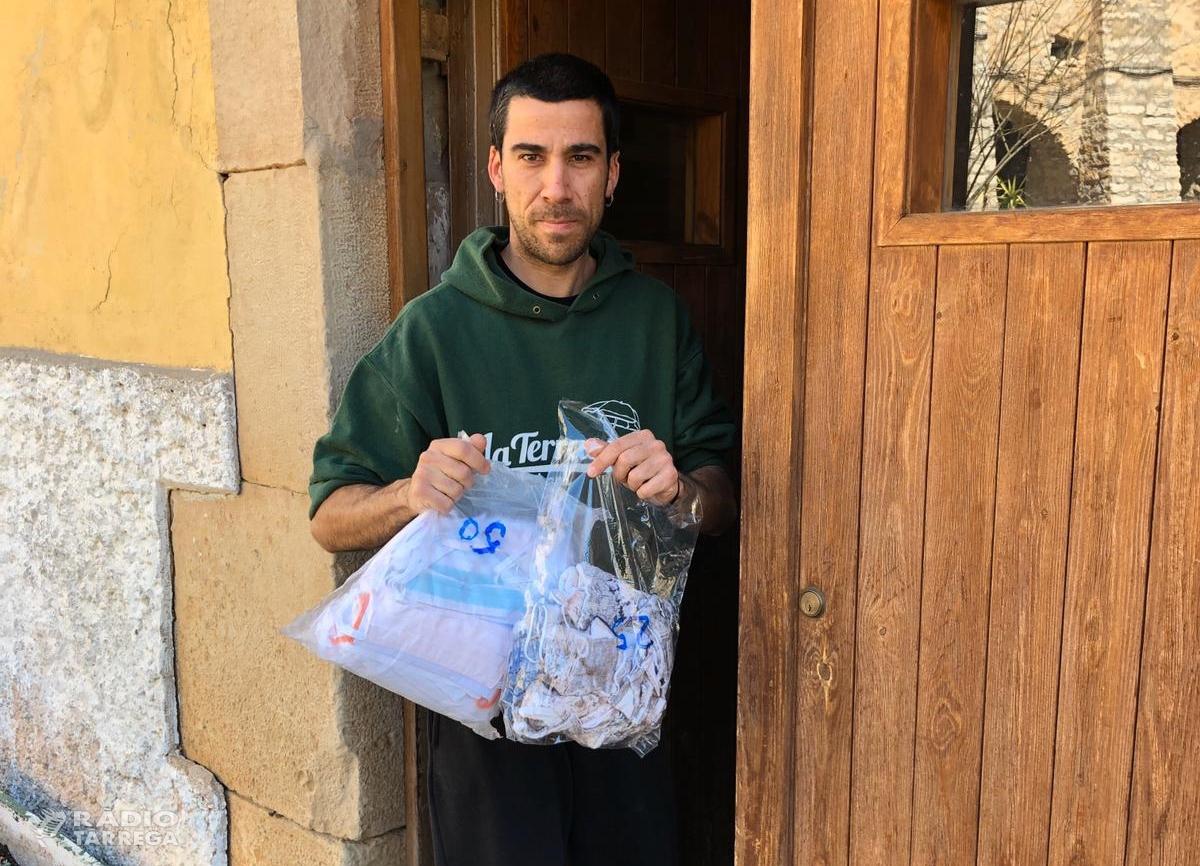 Tàrrega lliura als pobles del terme 348 mascaretes cedides gratuïtament per l'empresa Zero