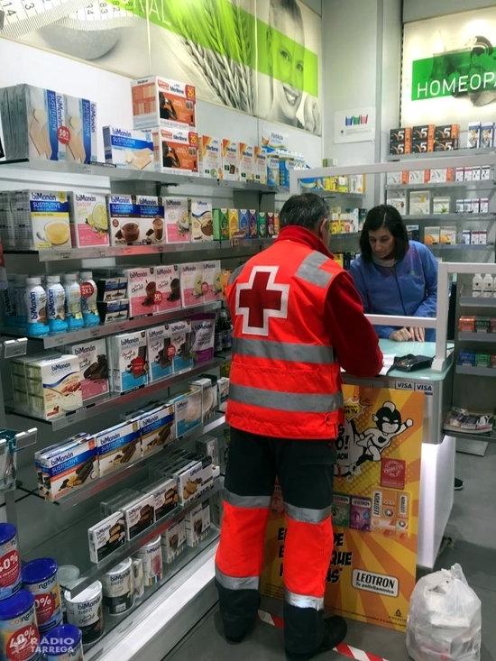 El Col·legi de Farmacèutics de Lleida i Creu Roja facilitaran l'entrega de medicaments a domicili a pacients vulnerables