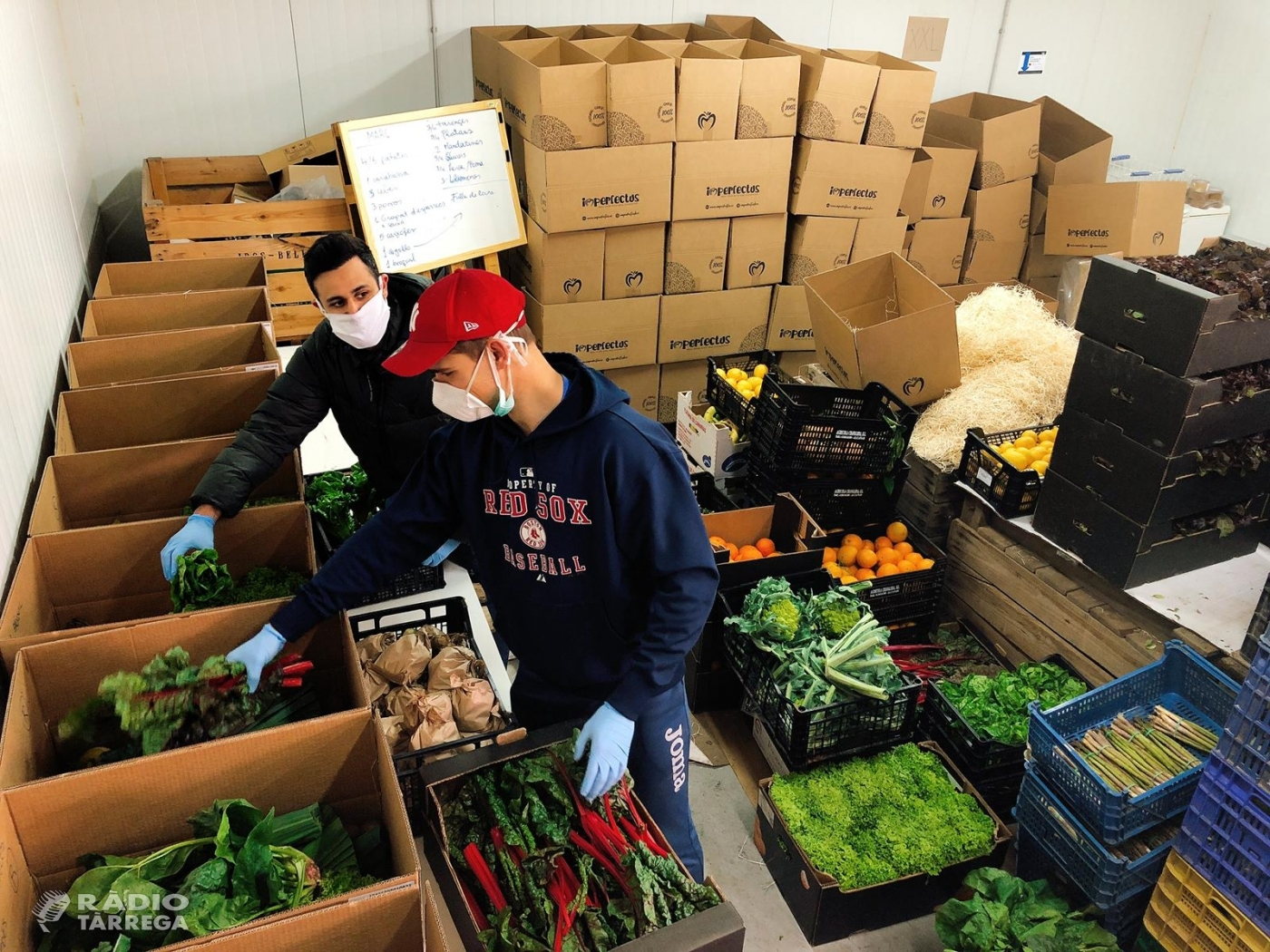 L'empresa Imperfectus fa una crida als pagesos amb excedents que vulguin donar sortida als seus productes durant la crisi del coronavirus