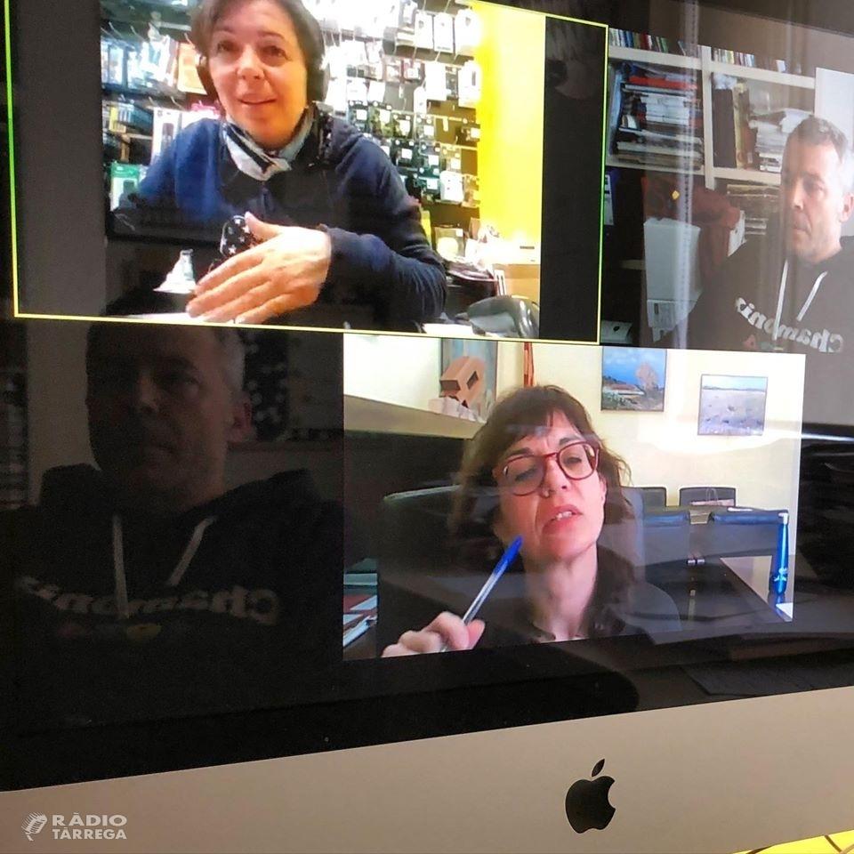 Reunió telemàtica entre Foment Tàrrega i l'Ajuntament per consensuar mesures per fer front a la crisi del coronavirus