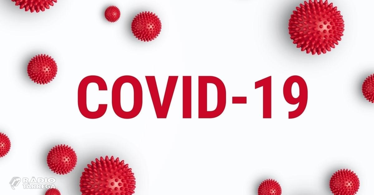 L'Urgell acumula 155 casos positius de la COVID-19 confirmats per prova diagnòstica i 283 casos sospitosos