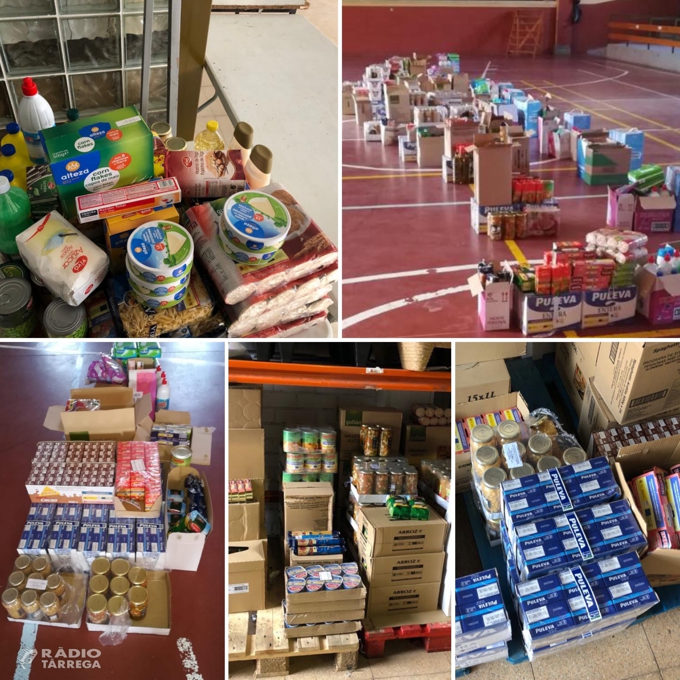48 famílies sol·liciten ajuda per aliments a Serveis Socials del Consell Comarcal de l'Urgell des de l'inici de la pandèmia