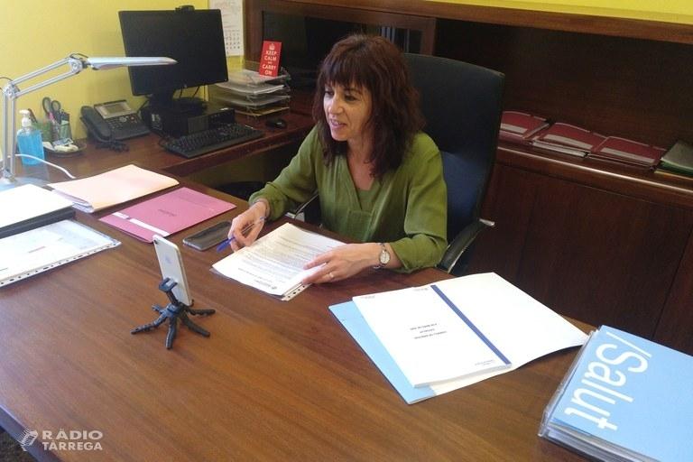 L'alcaldessa de Tàrrega respon en directe a Instagram les preguntes formulades per la ciutadania sobre la gestió municipal de la crisi del coronavirus