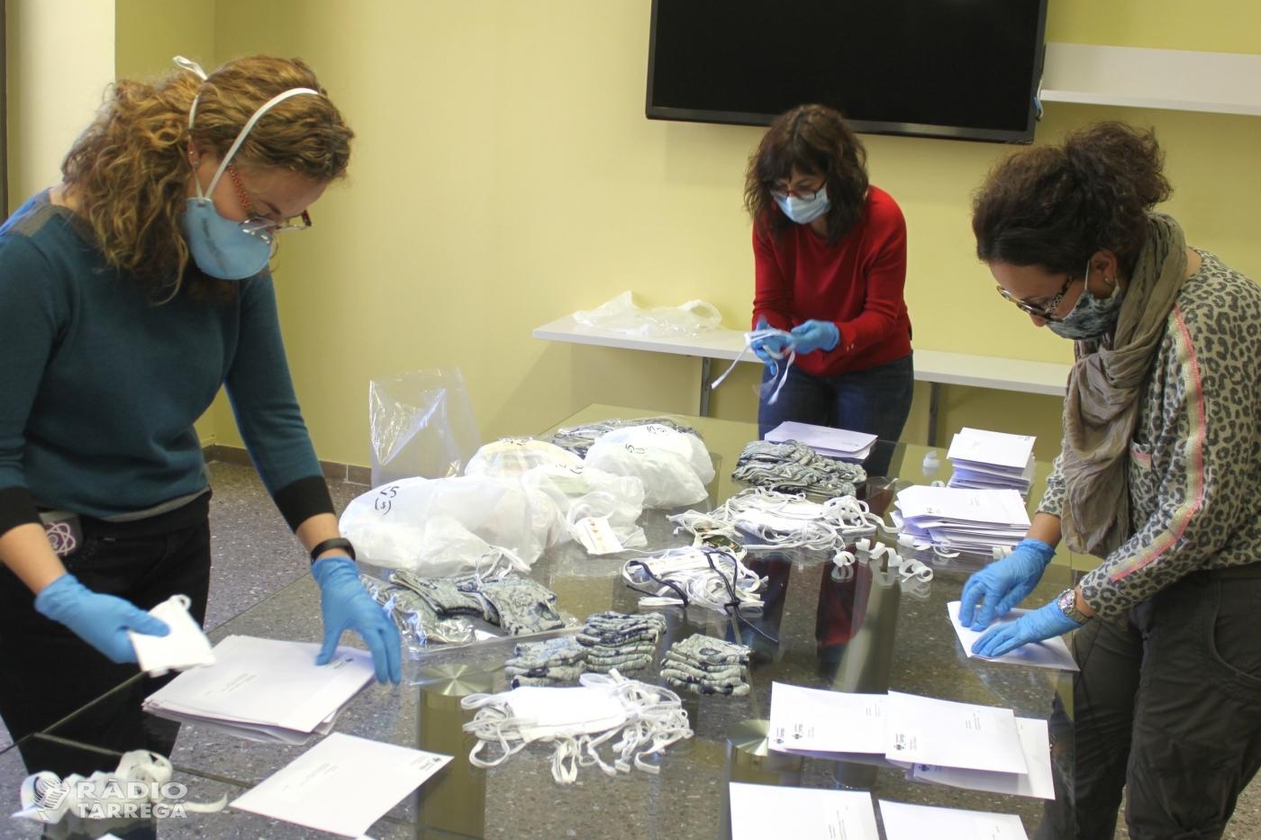 Tàrrega inicia el repartiment a domicili de les mascaretes per a infants i adolescents