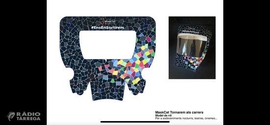 Les cambres de Catalunya fan públic el disseny d'una mascareta per protegir ulls, nas i boca