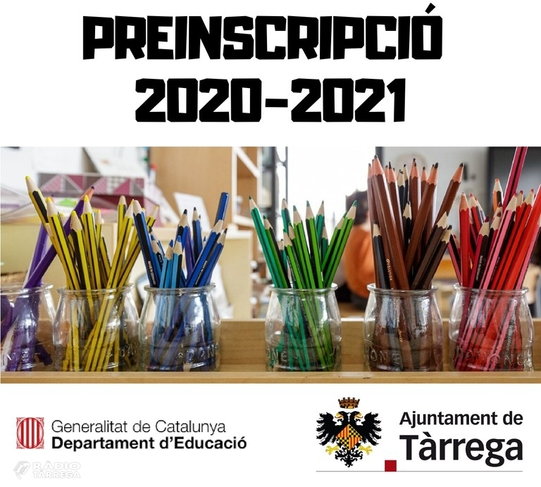El Departament d'Educació anuncia l'inici de la preinscripció escolar per al dimecres 13 de maig