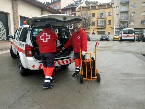 Creu Roja atén més de 6.000 persones afectades per la crisi de la covid-19 a la demarcació de Lleida