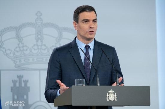 Sánchez demanarà una nova pròrroga de l'estat d'alarma d''aproximadament' un mes i afirma que 'pretén ser la última'