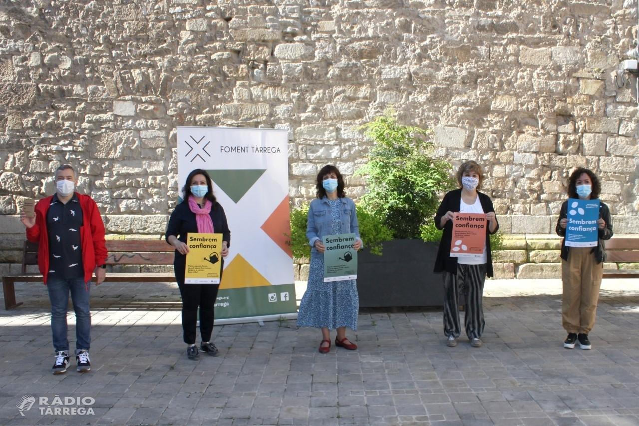 Foment Tàrrega endega una campanya de reactivació econòmica que anima la ciutadania a donar suport al comerç de proximitat