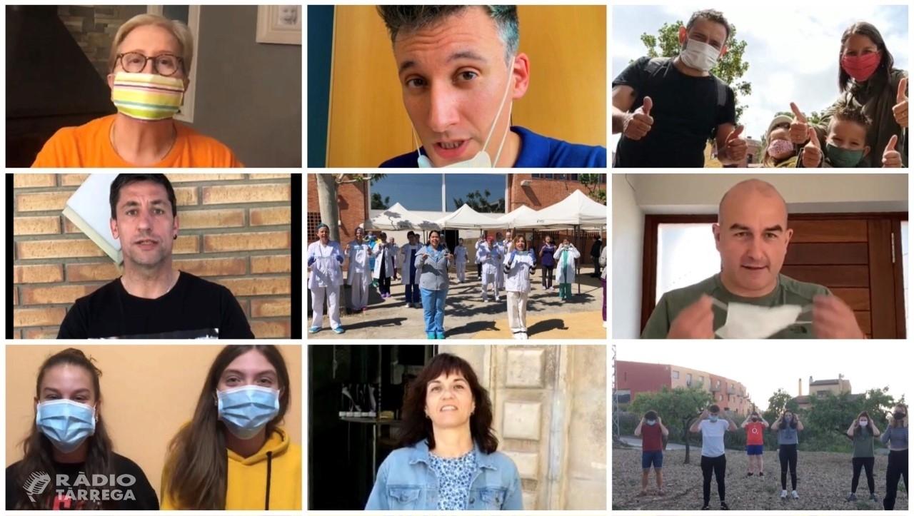 'Si surts, posa-te-la', nova campanya del CAP de Tàrrega per promoure l'ús de les mascaretes