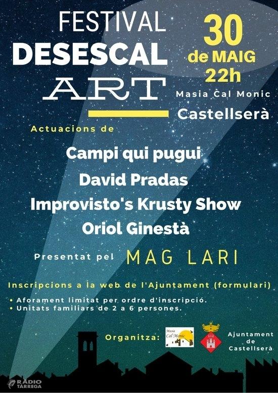 Castellserà celebrarà el primer Festival d'Arts escèniques de la desescalada a Ponent