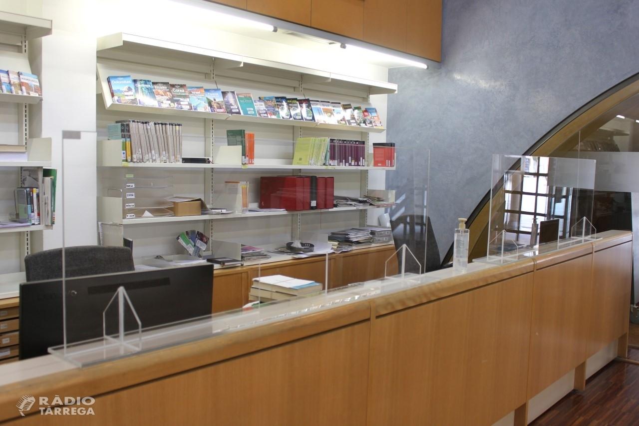 Reobertura gradual de la Biblioteca Pública de Tàrrega - Germanes Güell a partir del dilluns 1 de juny