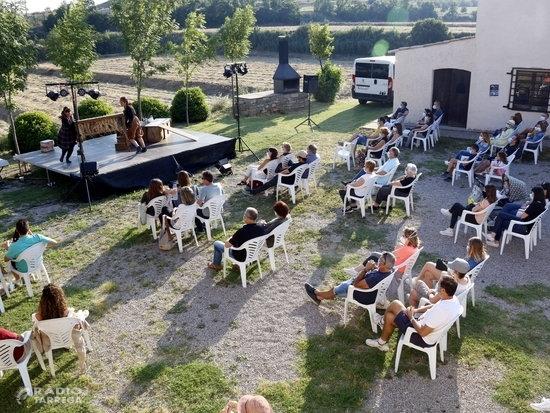 Castellserà celebra el primer festival d'Arts escèniques de la desescalada que es fa a Catalunya amb públic presencial