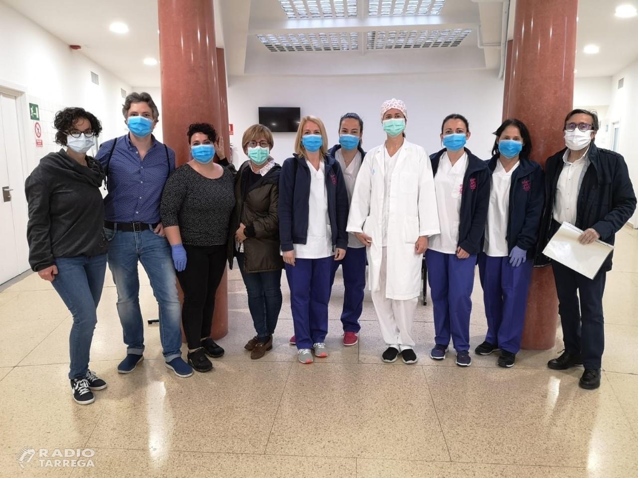 La Diputació de Lleida dona suport al programa ORFEU per fer tests PCR i serològics de la Covid-19
