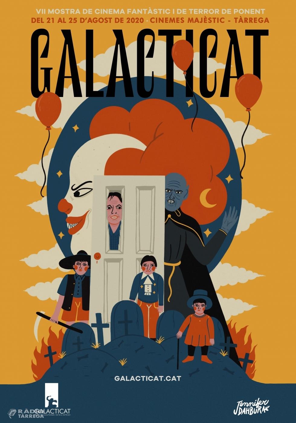 El 'Galacticat', la Mostra de Cinema Fantàstic i de Terror de Ponent, tindrà lloc del 21 al 25 d'agost a Tàrrega amb més dies i més cinema al carrer