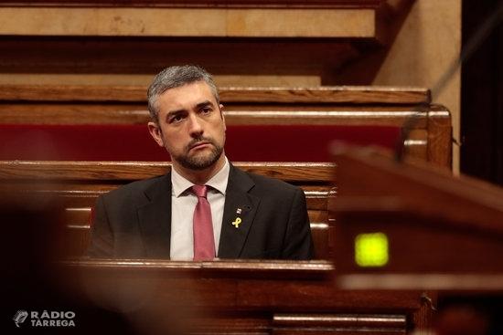 El TSJC obre judici oral contra el conseller Bernat Solé per desobediència per l'1-O quan era alcalde d'Agramunt