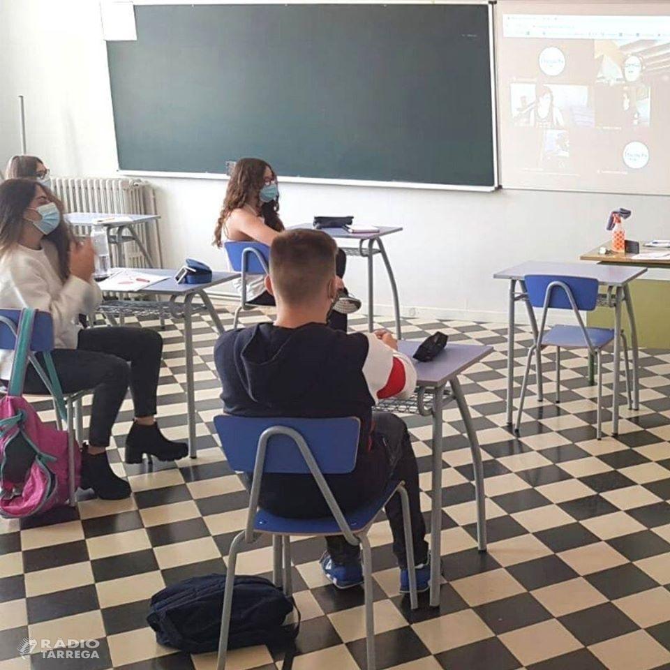 ÀUDIO: Crònica de la reobertura de centres educatius a Tàrrega