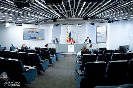 El Consell de Ministres aprova el decret de 'nova normalitat' i descarta una recentralització de competències