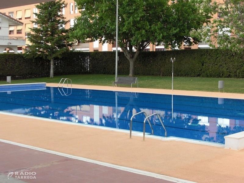 Agramunt obrirà les piscines municipals el 22 de juny