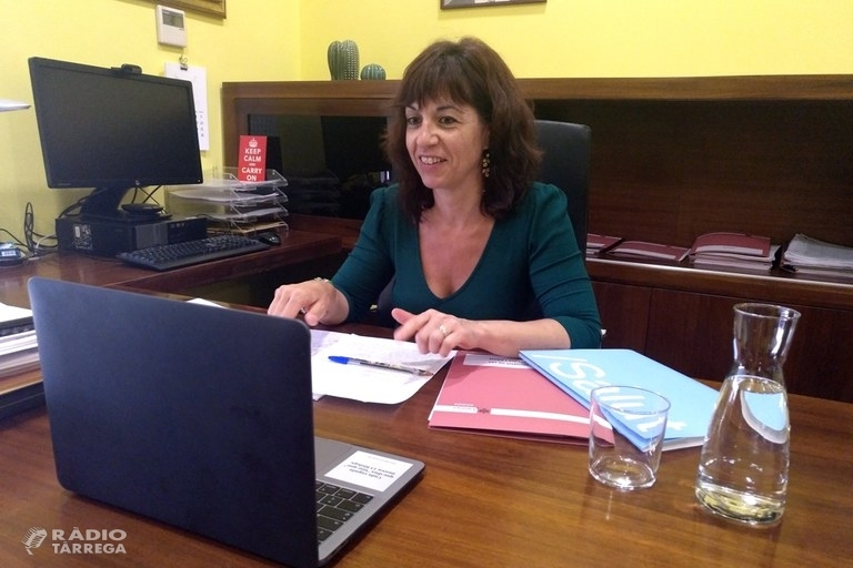L'alcaldessa de Tàrrega respon en directe les preguntes de la ciutadania sobre la gestió de la desescalada