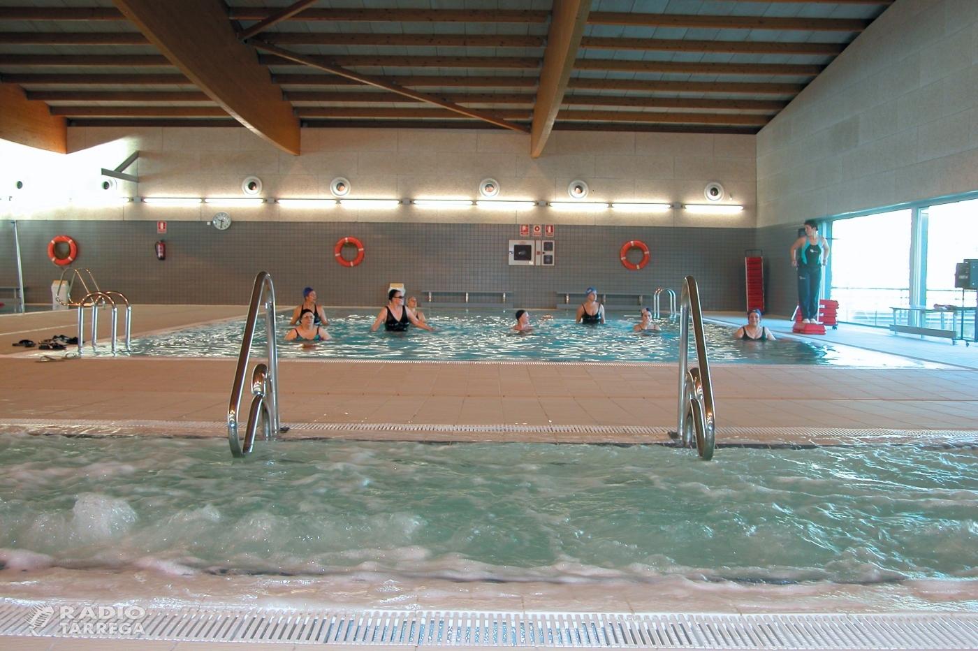 Reunió entre Ajuntament i Club Natació Tàrrega per afrontar el tancament obligatori de la piscina municipal coberta