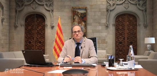 Torra signa el decret que posa fi a la fase 3 a Catalunya i el Govern inicia 'l'etapa de represa' amb regulació pròpia