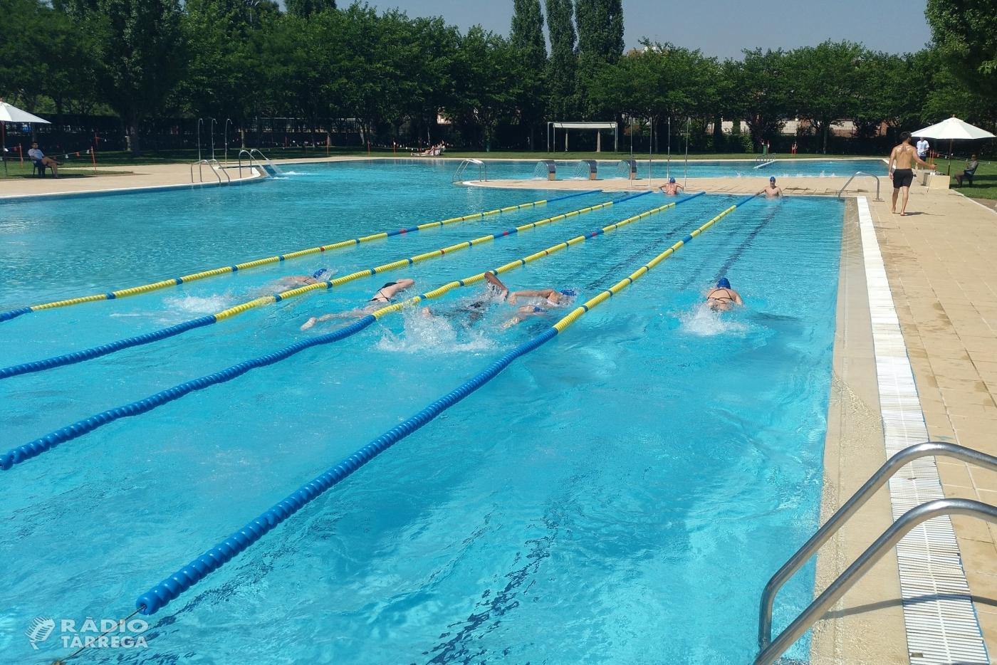 Tàrrega obre les piscines municipals d'estiu amb aforament limitat, franges horàries i tarifes reduïdes per a persones amb discapacitat