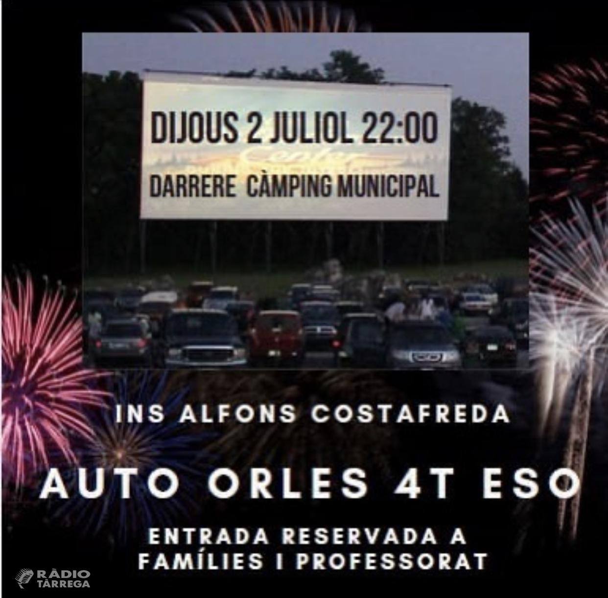 L'INS Alfons Costafreda de Tàrrega celebrarà 'Auto Orles' per acomiadar els alumnes del centre que acaben ESO i Batxillerat
