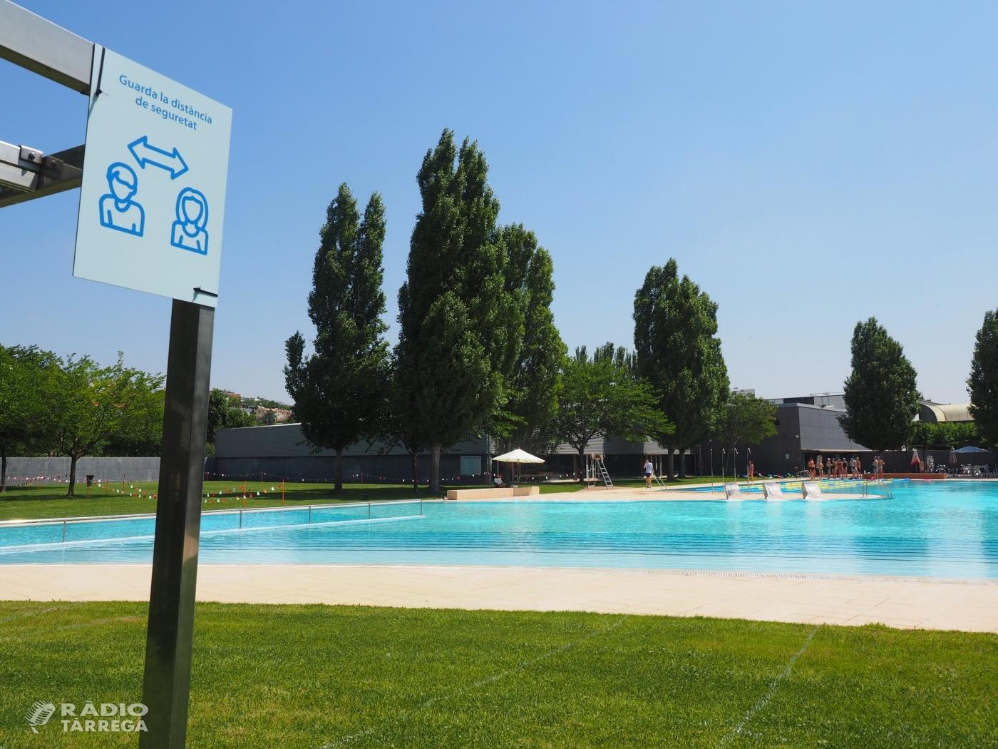 Tàrrega elimina les franges horàries a les piscines municipals d'estiu a partir del dimecres 1 de juliol
