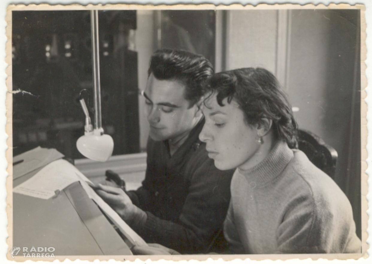 Mor Pilarín Minguell Pont, periodista i actriu a Ràdio Tàrrega i Ràdio París