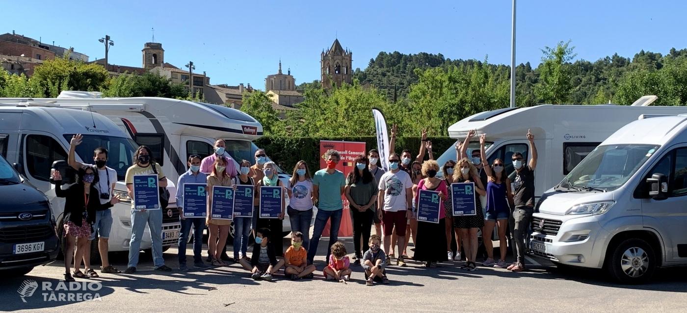 Vanwoow i la Comarca de l'Urgell inauguren 11 noves zones de pernocta per atraure turisme d'autocaravanes i campers