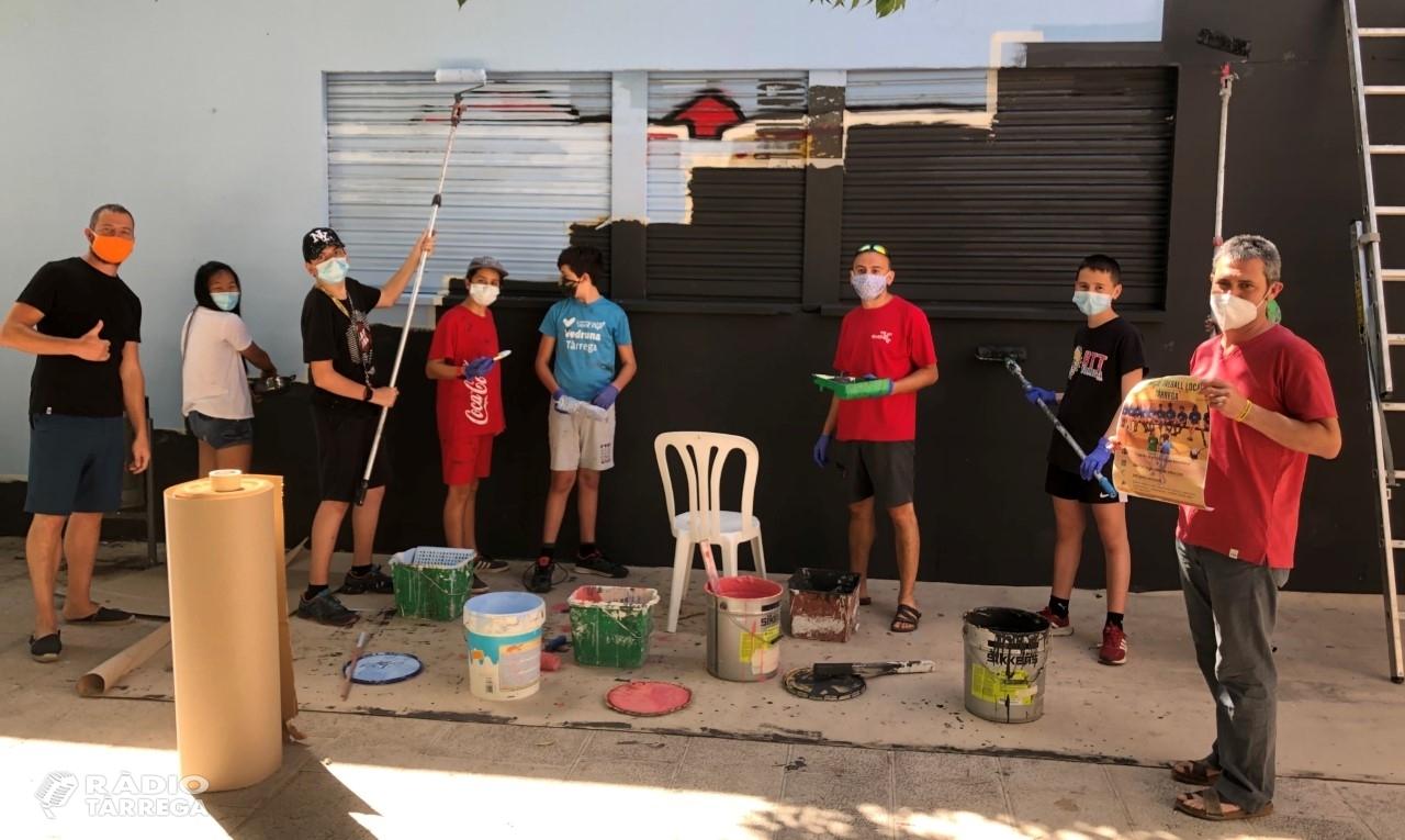 Nova experiència de voluntariat juvenil a Tàrrega per millorar espais locals