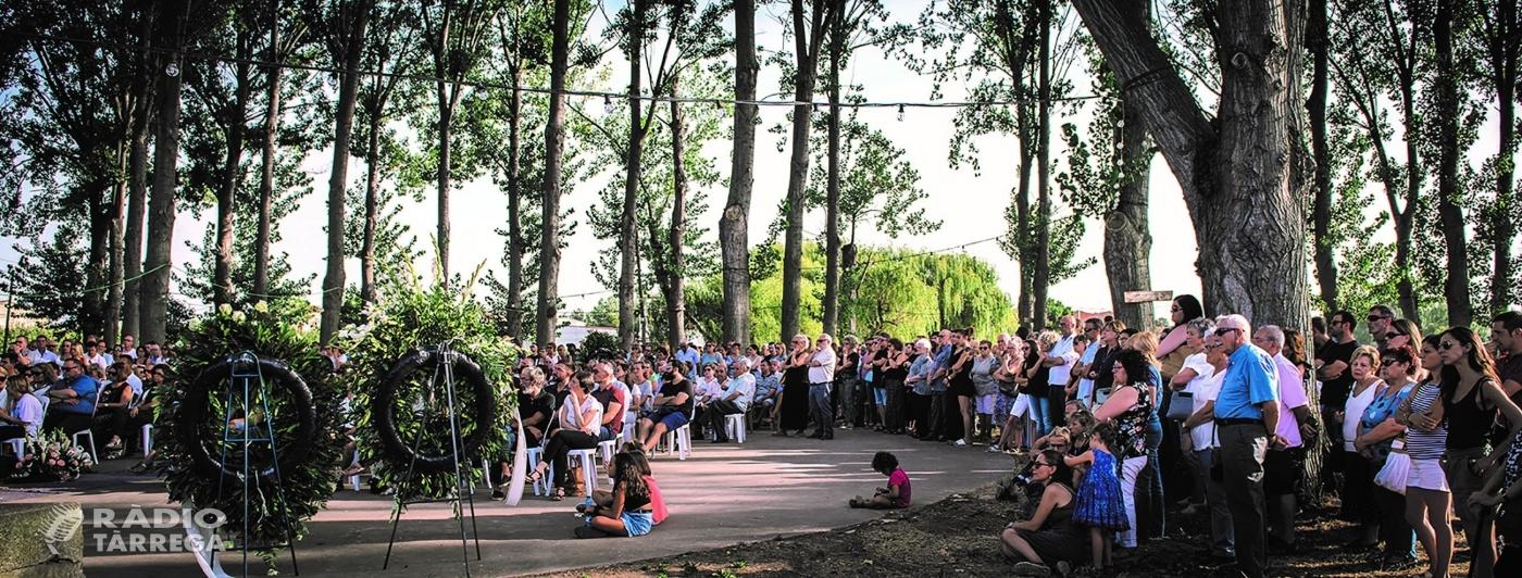 La Fuliola homenatjarà les persones que han mort durant el confinament amb la cerimònia col·lectiva 'Marxant en silenci' el dia 18 de juliol a l'Era
