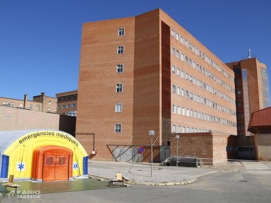 Els ingressos per covid-19 als hospitals de la Regió Sanitària de Lleida continuen pujant i arriben a 84