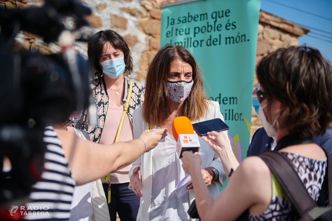 El Govern destina 80 milions d'euros als municipis de la demarcació de Lleida a través del PUOSC 2020-2024