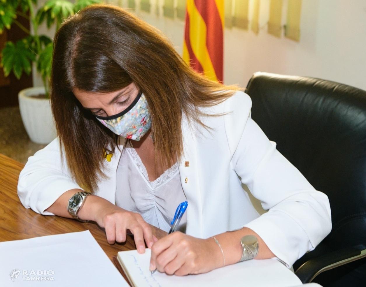 Budó reconeix que el Govern està preocupat per l'augment de contagis a la Noguera i s'obre a més mesures per frenar-ho