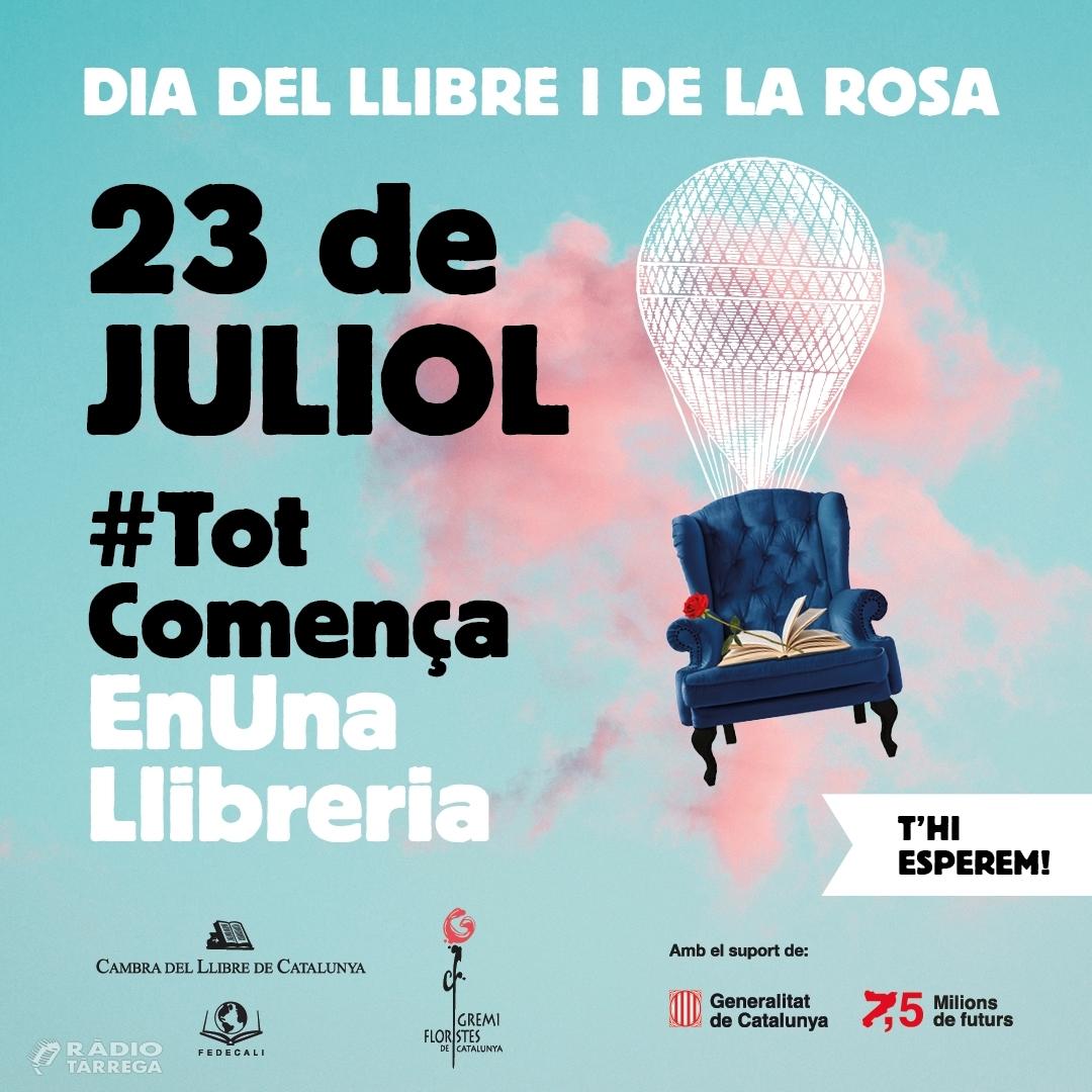 Tàrrega es prepara per al 'Dia del Llibre i de la Rosa' del 23 de juliol amb més d'una vintena de paradistes